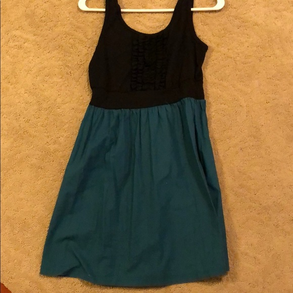 BeBop Dresses & Skirts - Black and teal dress